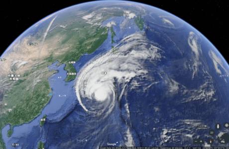 台風19号の「目」が消えたって本当?勢力は弱まる?について徹底